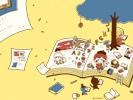 読書の秋■カナヘイの無料壁紙