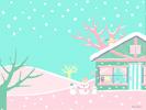 クリスマスの朝■カナヘイの無料壁紙