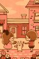 チョコを食べたら(ピンク)■illust_カナヘイ