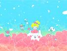 花カフェ(青空)■カナヘイの無料壁紙