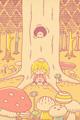 キノコの森1■illust_カナヘイ