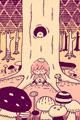 キノコの森3■illust_カナヘイ