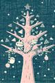 雪とツリーとぼくたち2■illust_カナヘイ