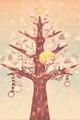 雪とツリーとぼくたち3■illust_カナヘイ