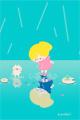 水たまりの世界2■illust_カナヘイ