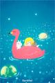 宇宙遊泳■illust_カナヘイ