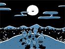 月夜のパーリーピーポー3■カナヘイの無料壁紙