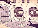 ハロウィンのおすそわけ1■カナヘイの無料壁紙