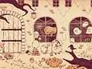 ハロウィンのおすそわけ2■カナヘイの無料壁紙