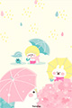 おニューの傘1■illust_カナヘイ