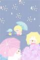 おニューの傘2■illust_カナヘイ