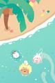みんなの夏休み1■illust_カナヘイ