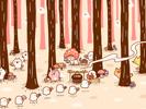 おばけの森のきのこ鑑定士1■カナヘイの無料壁紙