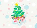 Christmas smile■カナヘイの無料壁紙